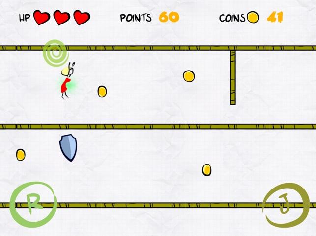 Jump or Roll Game Screenshot