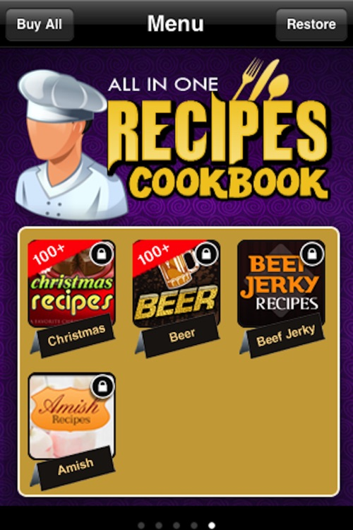 All in One Recipes Cookbook** screenshot-4
