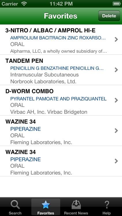 Animal  & Veterinary Drugs screenshot-3