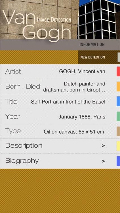 Van Gogh Museum ID Audio guide