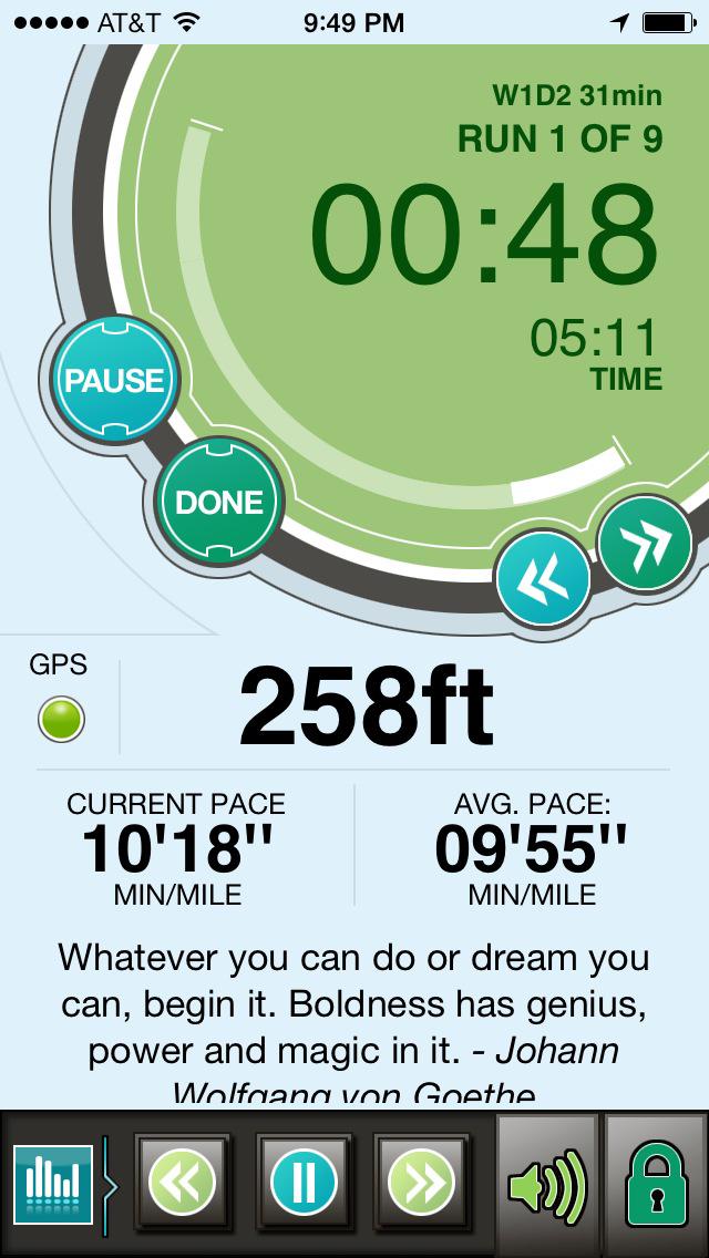 Ease into 5K: run walk interval training programのおすすめ画像3