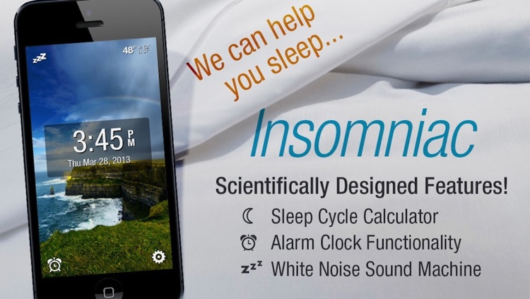 SleepSmart Insomniac Sleep Genius: Best Sleep and Awakening Ever with Alarm Clock, Sleep Cycle and White Noise Sound Machine!