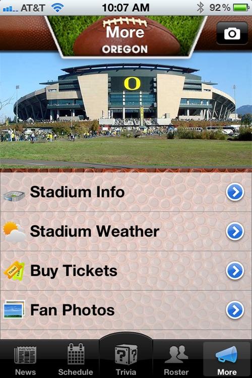 Oregon Ducks Football News, Trivia and More screenshot-3