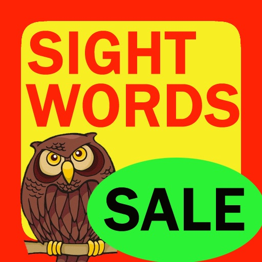 Sight Words Flashcard - 1000 words for kids in preschool, pre-k, kindergarten and grade school iOS App