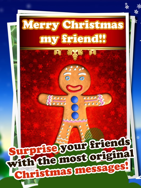 Talking Gingerbread Man HD screenshot-4