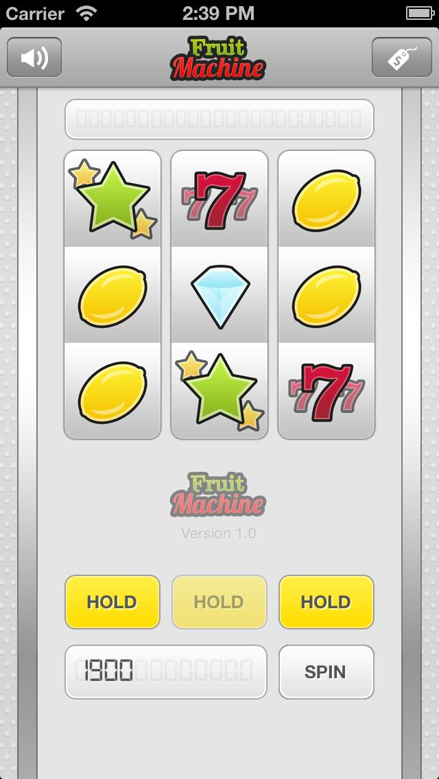 Fruit Machine screenshot two