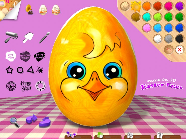 Paint-On-3D Easter Eggs screenshot-3