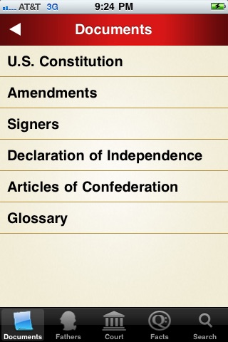 U.S. Constitution and Facts