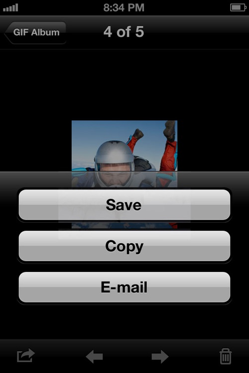 Animated GIF Album free screenshot-4