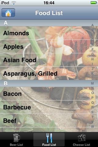 Beer Match: Beer, Food and Cheese Pairings screenshot-3