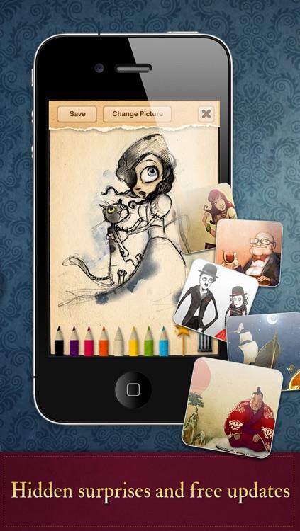 Forgotten Colours - Interactive Edition screenshot-4