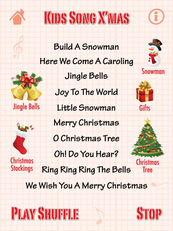 kids song xmas for ipad christmas songs - Christmas Songs For Kids