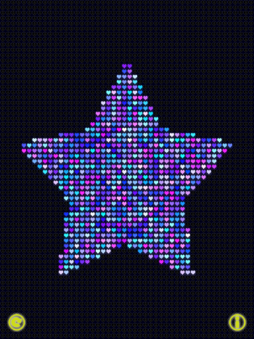 Glow Neon Heart Lights Lite Скриншоты10