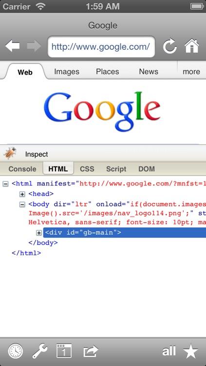 Narrow: Plain hypetext web browser screenshot-4