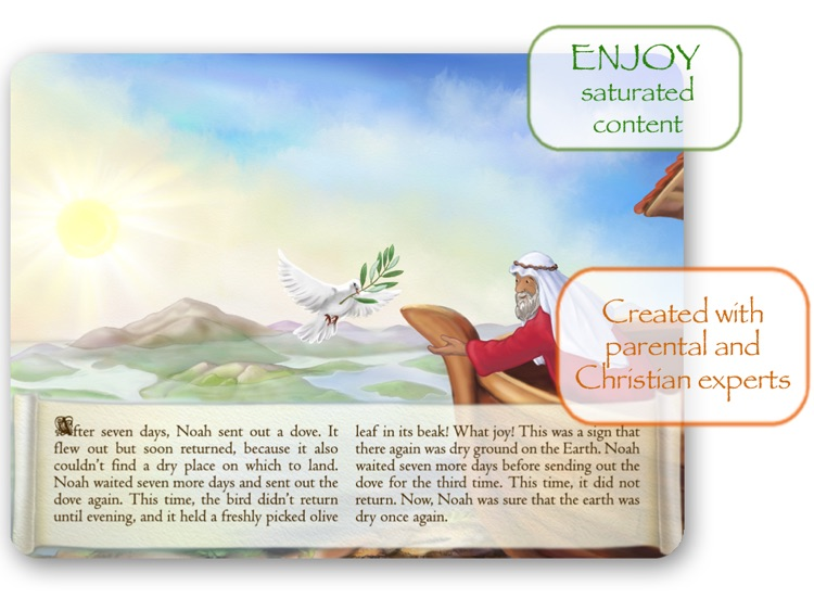 Bible Stories for Children: Noah's Ark HD screenshot-3