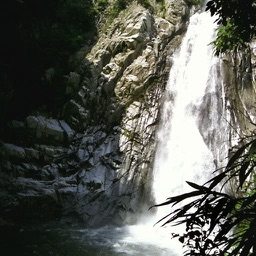 Waterfall in Nunobiki