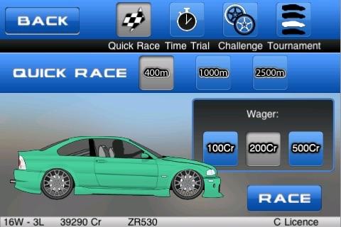 Drag Racer : Perfect Run
