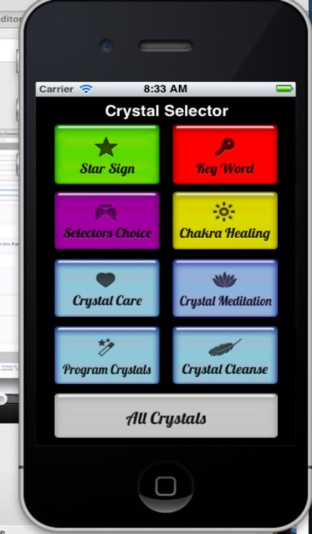 Crystal Selector screenshot-0