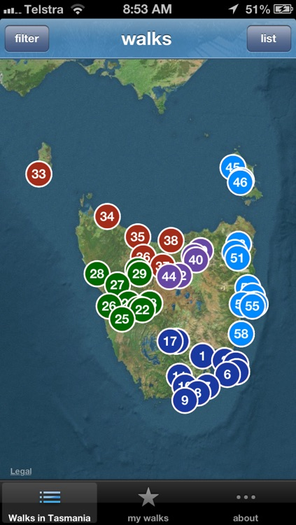 60 Great Short Walks Tasmania screenshot-3