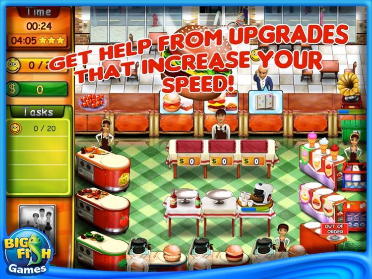 Burger Bustle HD screenshot-3