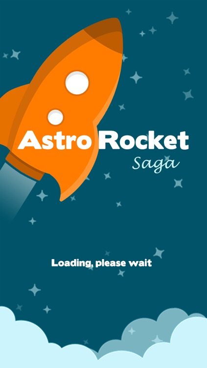 Astro Rocket Saga - Asteroids diving survival game screenshot-0
