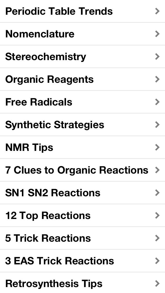 Organic Chemistry Essentials screenshot one