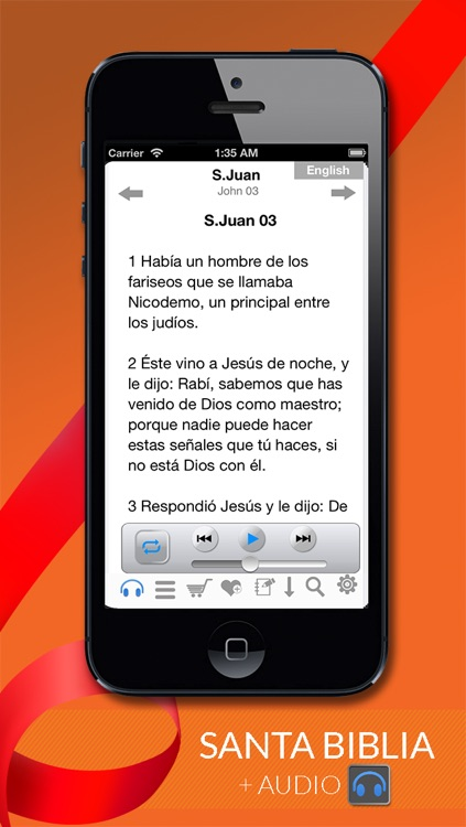 Santa Biblia Reina Valera + Audio screenshot-0