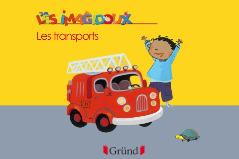 Transports - An interactive picture book to learn while having fun
