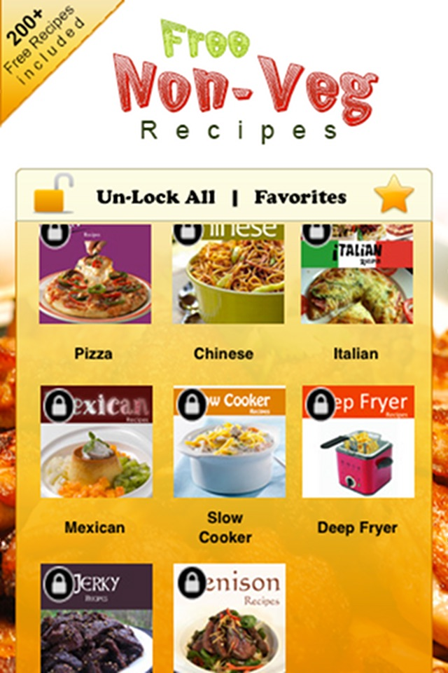 2000 Non-Veg Recipes Screenshot