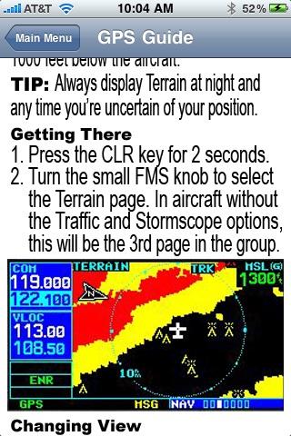 GPS Guide for Garmin 430
