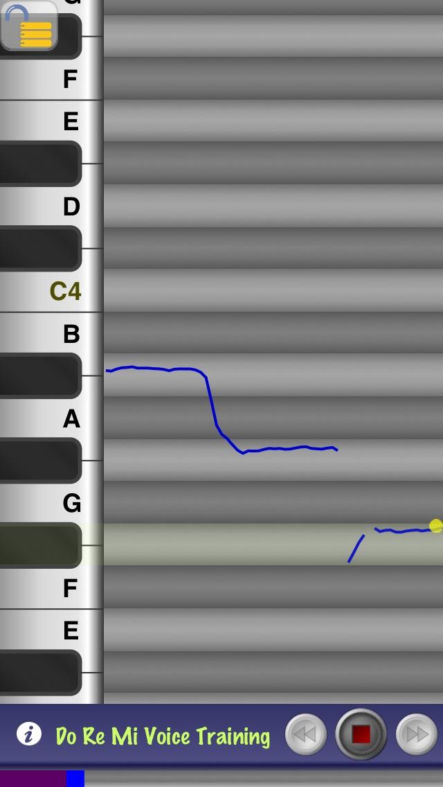 Do Re Mi Voice Training Screenshot on iOS