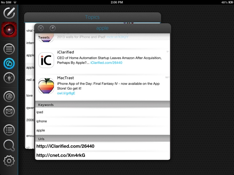 Neatly - The smart twitter client for iPad