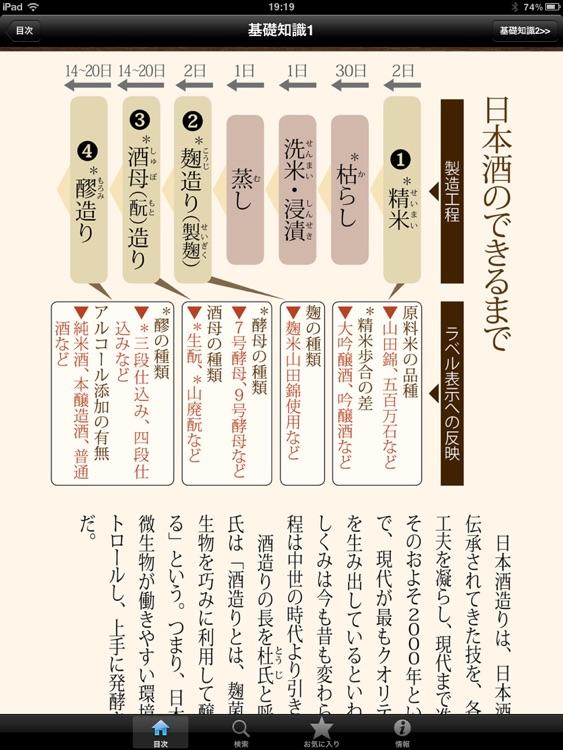 日本酒手帳 for iPad screenshot-3