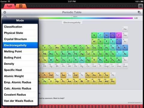 Mild elemints free periodic table app price drops screenshot 2 for mild elemints free periodic table urtaz Choice Image