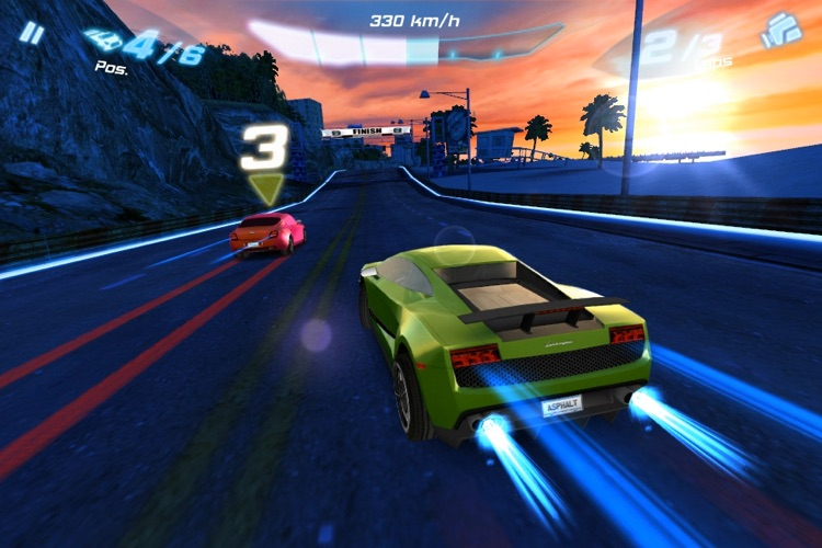Asphalt 6: Adrenaline screenshot-2