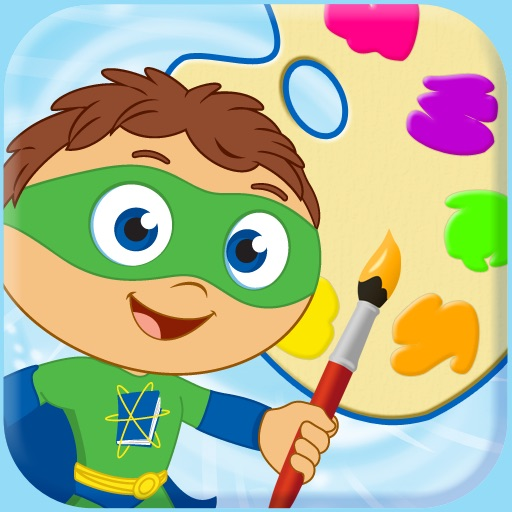 SUPER WHY Paint!