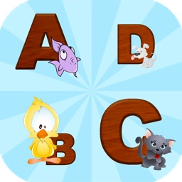 English Alphabet Match Game for Toddlers, Kids, Preschool and Kindergarten children! The free alphabet app with spelling and phonics optimized for play & learn.