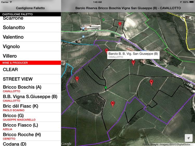 Castiglione Falletto Wine Map screenshot-3