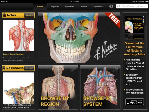 Netters Anatomy Atlas Free Revenue Download Estimates Apple
