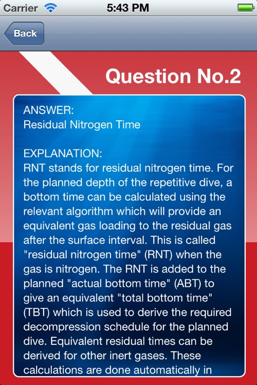 ScubaQuiz screenshot-4