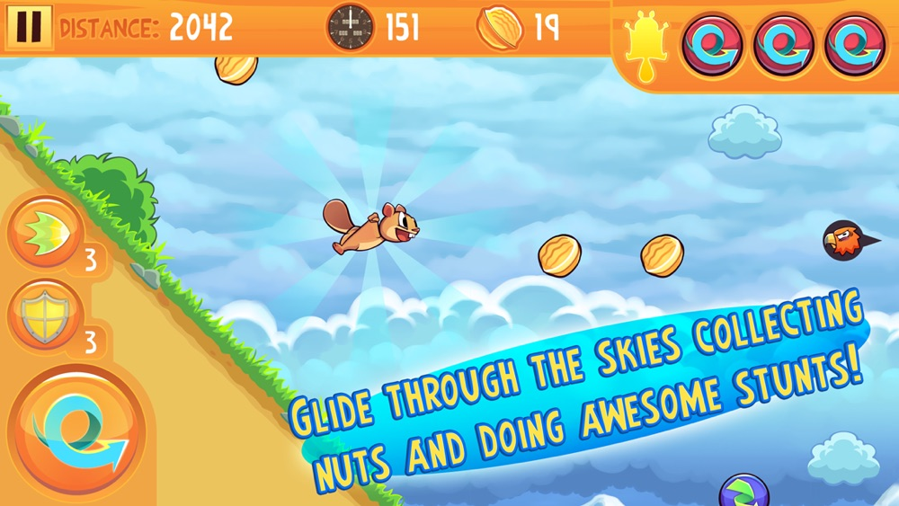 Kew Kew – The Crazy & Nuts Flying Squirrel Game Cheat Codes