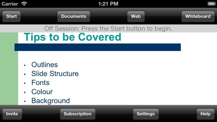 ScreenCaster for iPhone screenshot-3