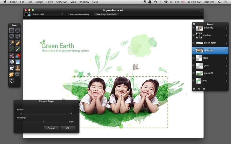 Colar - an Advanced Image Editor скриншот программы 3
