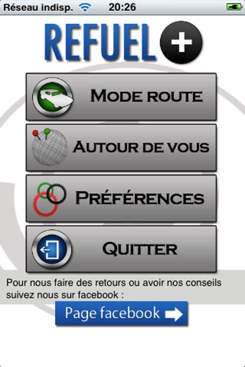 Refuel+. Avertisseur de station essence discount
