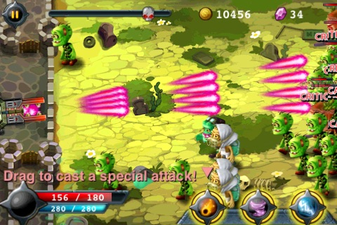 Zombie Battle screenshot-3