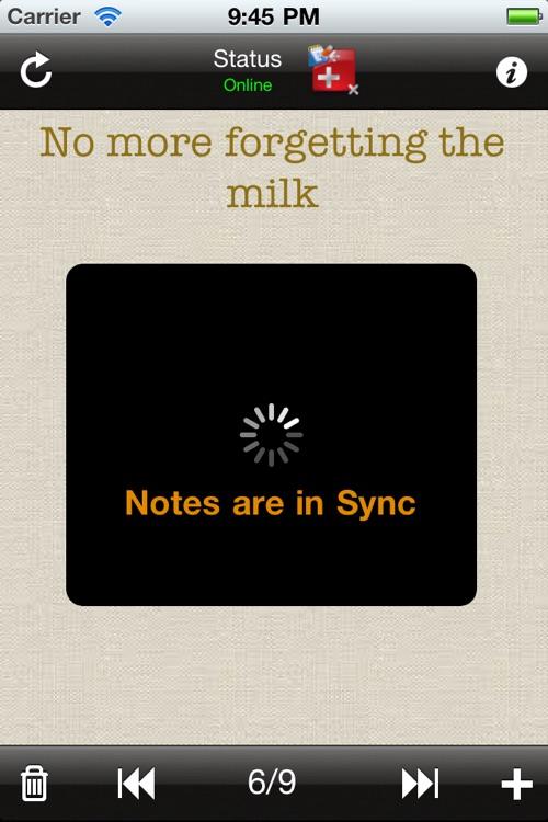 Sticky Notes Online screenshot-3