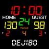 バスケットボール スコアボード -デジ坊- - iPhoneアプリ