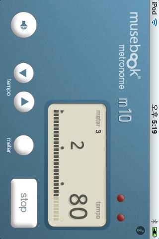 musebook metronome m10