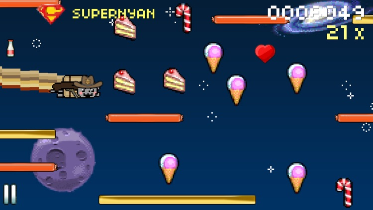 8bit Nyan Cat: Lost In Space screenshot-1