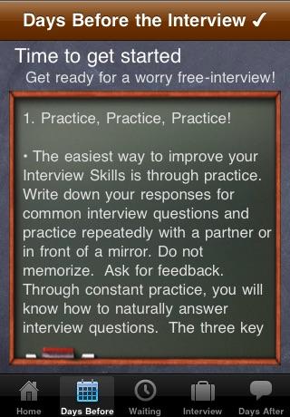 Screenshot of Interview Guru Lite